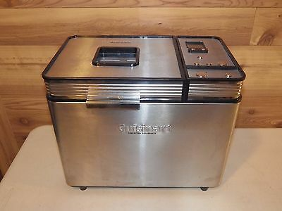 Cuisinart CBK-200 Stainless Steel Convection Bread Machine; EUC Used Once!