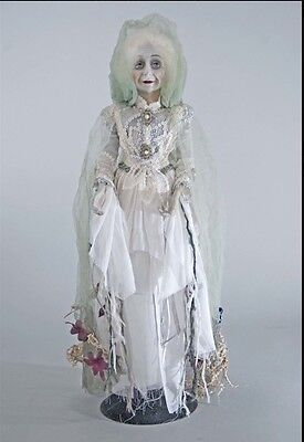 """Katherine's Collection Halloween Forest Cemetery 23"""" Floating Lady In Mourning"""