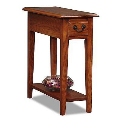 Mission Oak Style Solid Wood Hallway Accent Living Room Side End Table