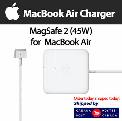 New Genuine APPLE MacBook Air A1466/65 Magsafe 2 45W Power Adapter Charger A1436