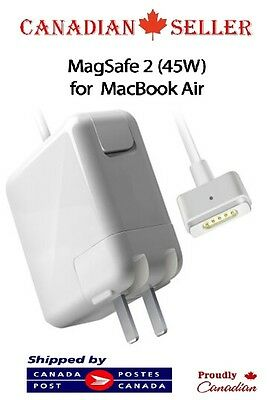 New Power Adapter Charger For APPLE MacBook Air 45W Magsafe 2 A1436 A1465 A1466