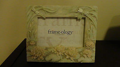 Frameology Picture Frame Water Lilies and Dragon Flies