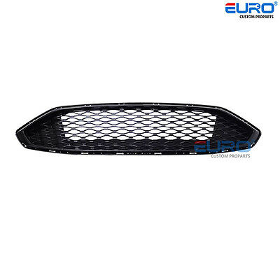 Front Radiator Gloss Blackout Honey-comb Concept Mesh Grille for 2017+ Fusion SE