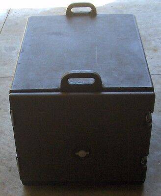 Used Cambro Dark Brown Full Size Food Pan Camcarriers Carrier NR