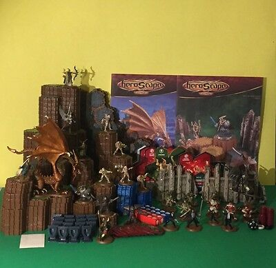 """HEROSCAPE WAR GAME The Battle of All Time """"Rise of theValkyrie Set HASBRO 2004"""