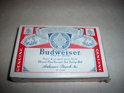 Brand New Sealed. Budweiser- King Of Beers- Playing Cards