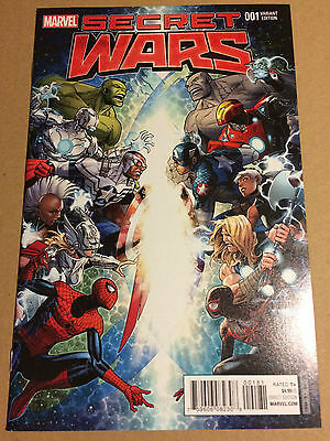 Secret Wars (2015) #1, 1:100 Jim Cheung Variant Cover *** HOT BOOK ***