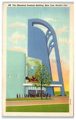 Electrical Products Building, 1939 New York World's Fair Postcard