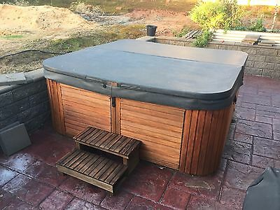8 Seater Outdoor Spa