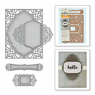 SPELLBINDERS SHAPEABILITIES cutting dies A2 TRANQUIL MOMENTS ww Sizzix Cuttlebug