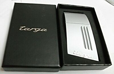 100% NEW in BOX PORSCHE TARGA b PILLAR VENT LOGO DESiGN BOTTLE OPENER RARE NRFB