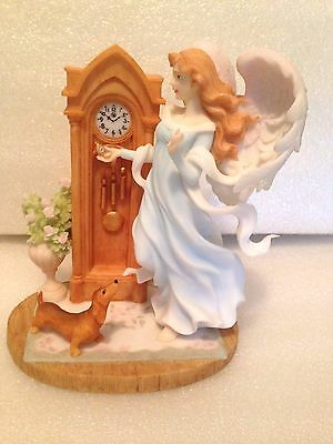 """Seraphim Classics Destiny """"heavenly Moments"""" -Dachshund - Autographed Gaylord Ho"""