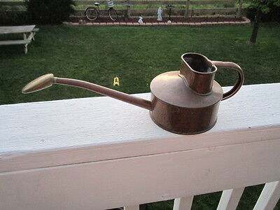 Vintage Copper And Brass Haws? Watering Can