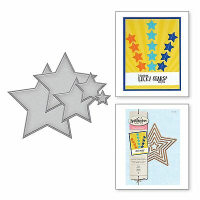 SPELLBINDERS NESTABILITIES cutting dies STARS - Sizzix Cuttlebug compatible