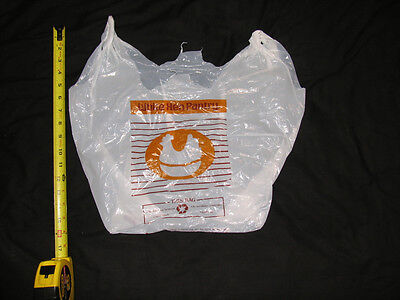 Vintage White Hen Pantry ,Convenience Store Plastic Shopping Bag Grocery Market