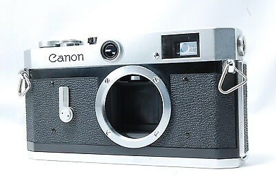 Canon P 35mm Rangefinder Film Camera Body Only  SN763592