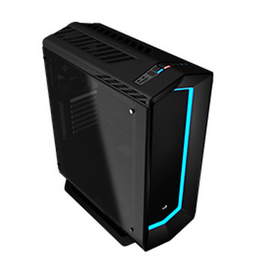 NEW Aerocool P7-C1 Tempered Glass Mid Tower Black