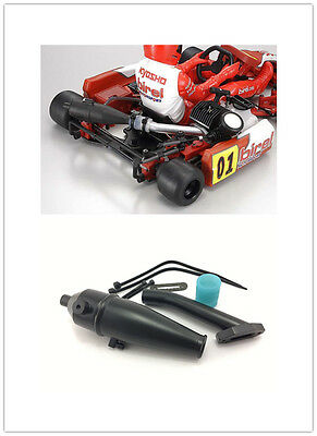 1/10 RC Tuned Exhasut Pipe For Kyosho Go Kart karting Off Road Buggy