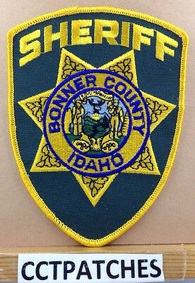 Bonner County, Idaho Sheriff Police Shoulder Patch Id