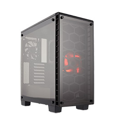 NEW Corsair Crystal 460X Mid-Tower Black ATX Case