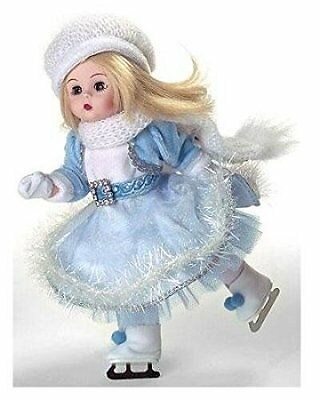 "Madame Alexander ""dazzling Winter Skater"" Doll 45425 New In Box 8"" Tall"
