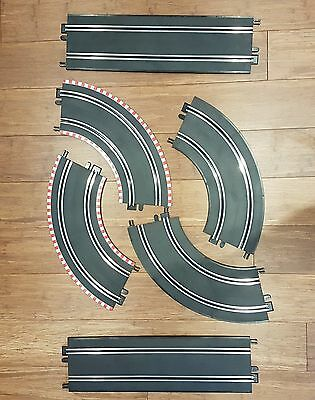 Scalextric Start Track Extension 2x straight and 4x curved
