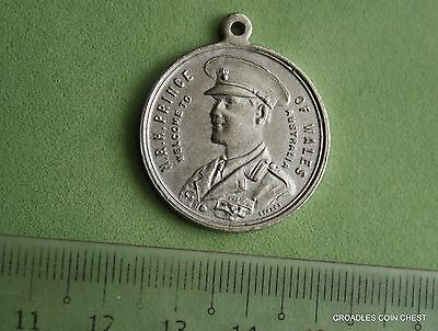 1920 Royal Visit Medal Hrh Prince Of Wales Australia Circulated Toned #bkw30