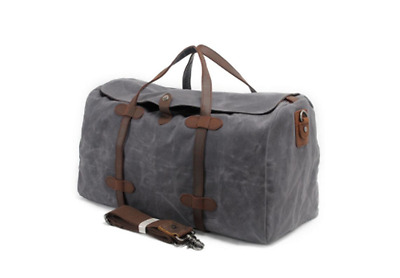 The Traveller Duffle Canvas Travel Bag NOMADIC CO.