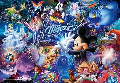 Disney Its Magic B/W Cross Stitch Chart