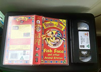 Rosie And Jim Fish Face And Other Animal Stories VHS Tape