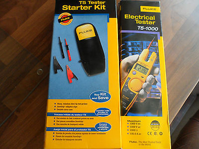 Fluke T5-1000 Electrical Tester, complete with T5 Tester Kit ***BNIB***