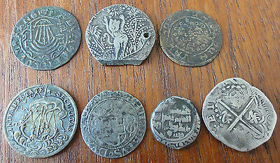 Lot No 5. 7 Monnaies Modernes. Collection 7 Modern Coins.
