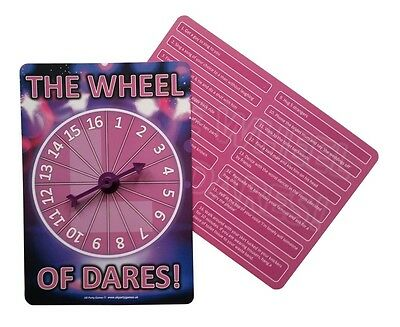 Hen Night Party Games - THE WHEEL OF DARES