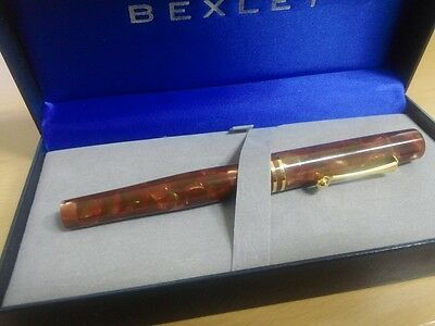 Bexley Gaston Special Tibaldi Celluloid fountain pen.