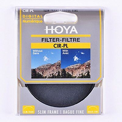 Hoya 40.5mm Slim PL-CIR Circular Polarising Lens Filter New UK Stock