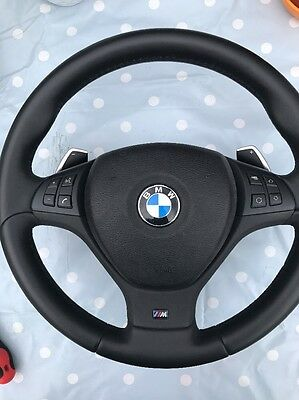 Bmw E70 E71 X5 X6 M Sport Steering Wheel With Airbag And Paddle Shift