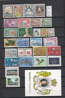 Stamps Lot British  Colonies & Territories Mnh**  (L17814)