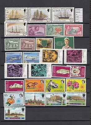 Stamps Lot British  Colonies & Territories Mnh**  (L17816)