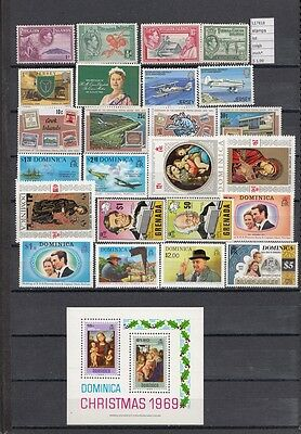 Stamps Lot British  Colonies & Territories Mnh**  (L17818)