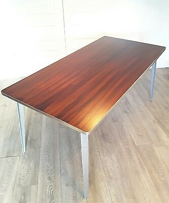 Mid Century Modern Ernest Race BA Table / Desk