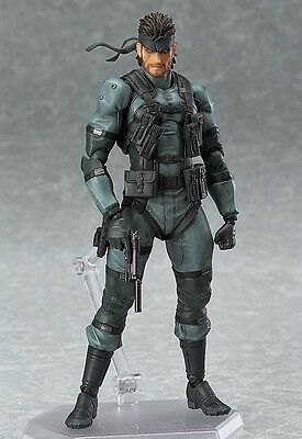 Metal Gear Solid 2: Solid Snake Figma Brand New