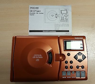 Tascam CD-GT 1 MKII With Built In Effects with manual very good condition