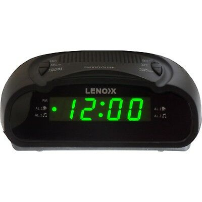 Bedside Alarm Clock Radio with Digital LED Display AM FM Snooze Sleep Small New