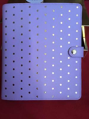Kikki K Planner Lilac Large A5 size New In Box