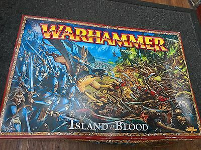 Warhammer The Game Of Fantasy Battles,the Island Of Blood,rare Unpainted Oop
