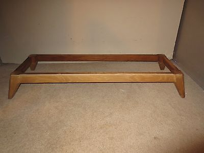 Vintage Solid Wood Rectangle Furniture Legs Stand Parts