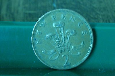 Rare 1981 2P Coin 'new Pence' Collectable Coin Two Pence