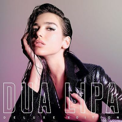 DUA LIPA  Deluxe Edition CD with extra tracks (17 Tracks Album)