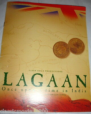Lagaan Aamir Khan Press Book Bollywood
