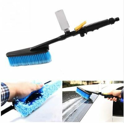 Best Car Washing Brush Auto Water Exterior Retractable Long Water Handle Comfort